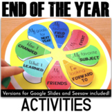 End of the Year Activities - Writing Fun
