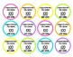 Lollipop Sight Word labels