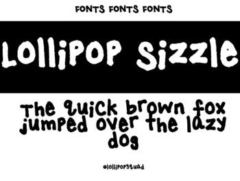 Lollipop Sizzle Font