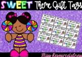Lollipop Theme Sweet Treat Student Back to School Tags