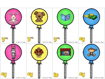 Lollipop Vowel Teams: Literacy and Language Game