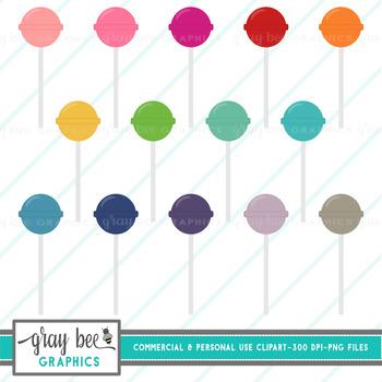 Lollipops Clip Art Pack