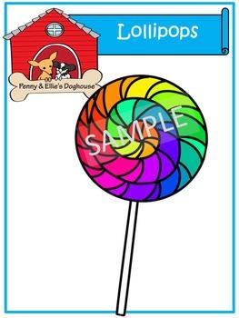 Lollipops *Penny & Ellie's Doghouse Clipart*