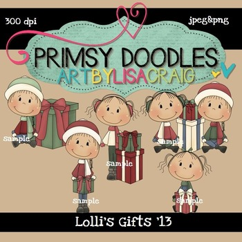 Lolli's Gifts 300 dpi clipart