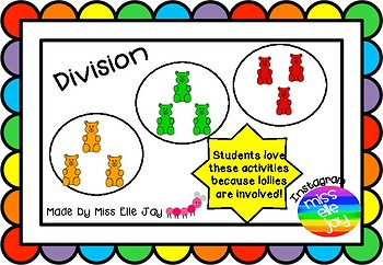 Lolly Division: Grouping and Sharing Using Lollies!