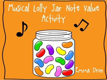 Lolly Jar Note Value Activity