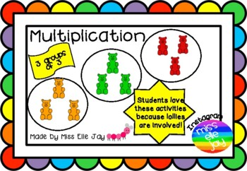 Lolly Multiplication: Grouping Using Lollies!
