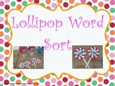 Lollypop word sort