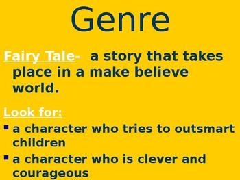 Lon Po Po - Genre & Purpose