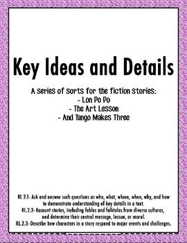 Lon Po Po Key Ideas Sort