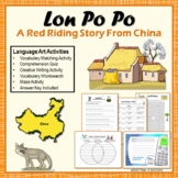 Lon Po Po/Little Red Riding Hood - Chinese Version Read Aloud Literature Unit