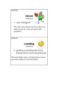 Lon Po Po Vocabulary