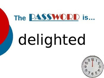 Lon Po Po - Vocabulary Password