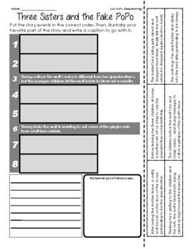 Lon PoPo - Sequencing / Retelling