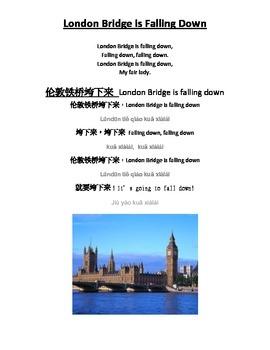 London Bridge English and Chinese