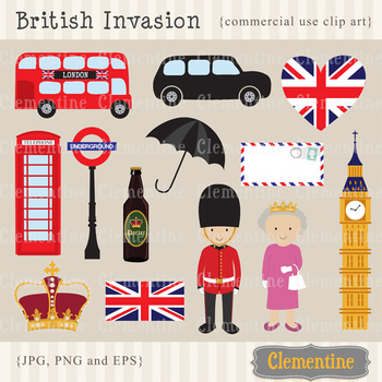 London Clip Art