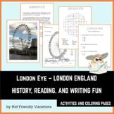 London Eye - London England - History, Facts, Coloring Pag