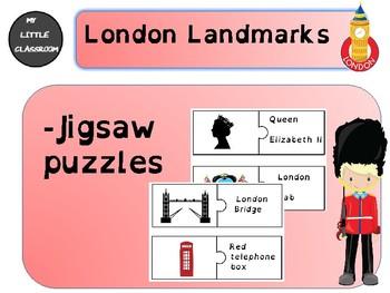 London Landmarks jigsaw puzzles