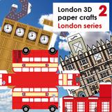 London Paper 3D crafts 2