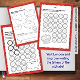 London Themed ABC worksheets