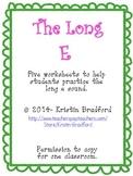 Long E Worksheets