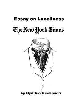 Loneliness essay from The New York Times