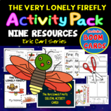 Lonely Firefly Activity Pack - 9 Resources BOOM CARD BONUS for Distance Learning