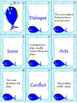 Lonely Fish-Drama Elements Vocabulary (a Version of Old Maid Game)