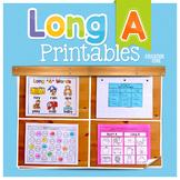 Long A Activities | Long A Worksheets
