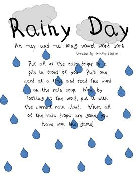 Long A 3 Pack- Ay' Matey, Circus Train, and Rainy Days