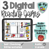 Long A AI AY:  Digital Reading Activities - Distance Learning