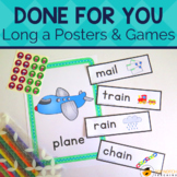Long A Activities, Games & Worksheets