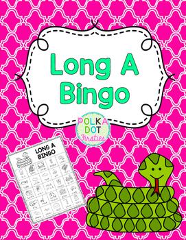 Long A BINGO