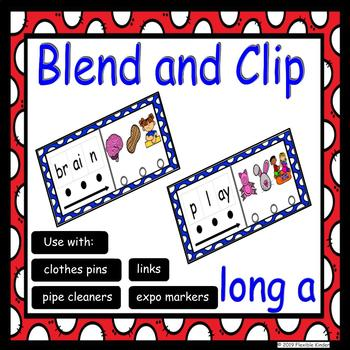 Long A Blend and Clip - ai and ay