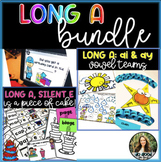 Long A Bundle -  CVCe and Vowel Teams: ai and ay