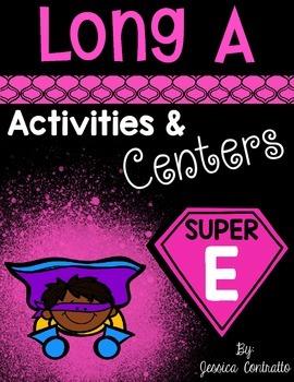 Slient E Long A Centers