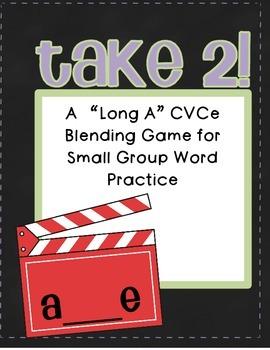 Long A CVCe Blending Practice