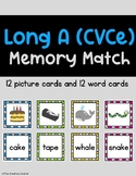 Long A CVCe Memory Match Game