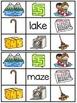 Long A Silent E Clip Cards Centers
