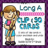 Long A Clip Cards