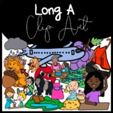 Long A Clipart: Moveable Images for Paperless Resources