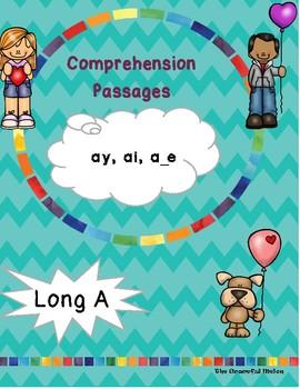 Long A Comprehension Passages