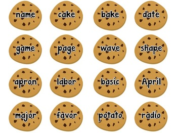 Long A Cookie sort