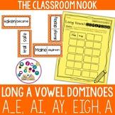 Long Vowel Dominoes: Long A (a, a_e, ai, ay, eigh)