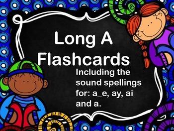 Long A Flashcards