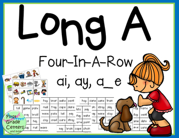 Long A: Four In A Row {ai, ay, a_e}