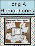 Long A Homophones Packet