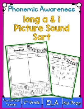 Long A & I Sound Sorting!