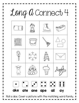 Long A Interactive Phonics Practice