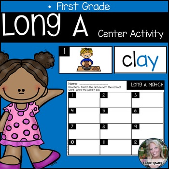 Long A Literacy Center Activity